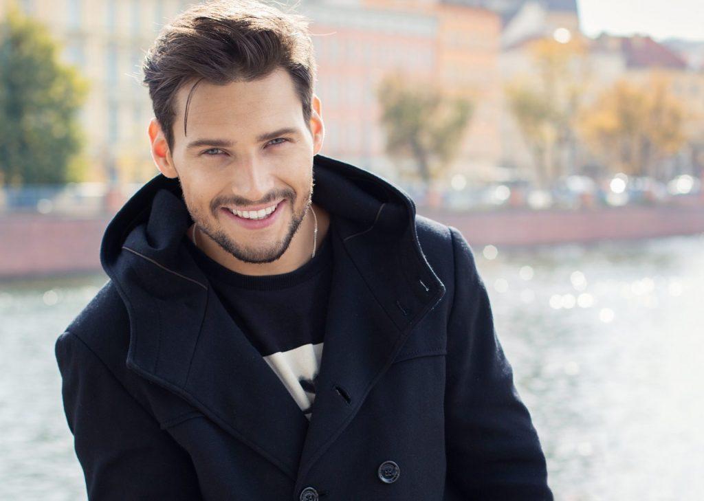 Testosterone Replacement - Man smiling Loudoun VA