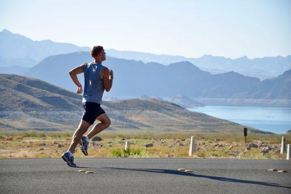 runner, male, running